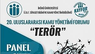Uluslararası terörü bürokratlar ve akademisyenler anlatacak