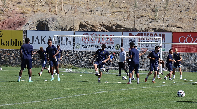 YMS'de Adana maçı hazırlıkları sürüyor