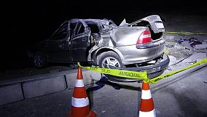Yozgat'ta iki otomobil çarpıştı: 1 ölü 6 yaralı
