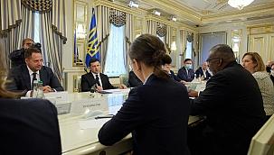Zelenskiy ABD Savunma Bakanı ile görüştü