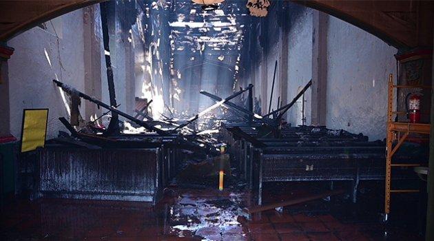 ABD'de 249 yıllık kilise yandı