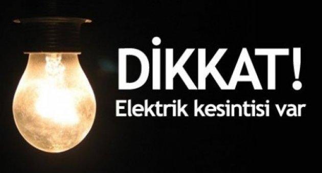 Akçadağ İlçesinde Elektrik Kesintisi !