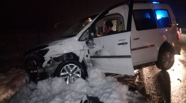 Akçadağ'da kaza : 5 yaralı