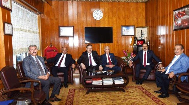 Akgül'den ESKKK Başkanı Evren'e ziyaret