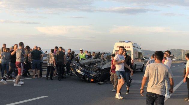 Alaplı'da trafik kazası: 5 yaralı