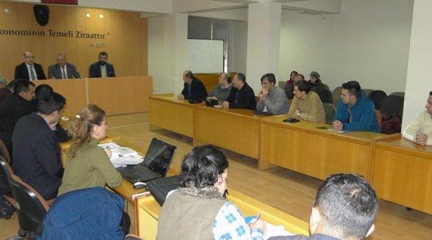 'Anaç Koyun Keçi Desteklemesi' ile ilgili bilgilendirme toplantısı yapıldı