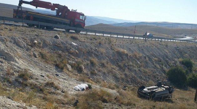 Anne ve oğlu kazada hayatını kaybetti