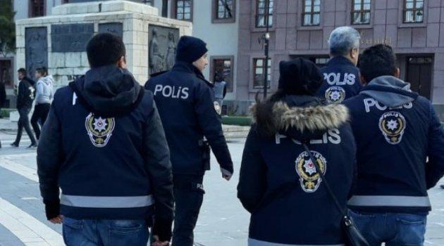 Araması bulunan 37 kişi yakalandı