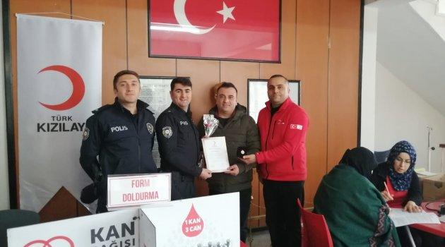 Arapgir'de kan bağışı