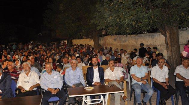 Arguvan'da dayanışma gecesi
