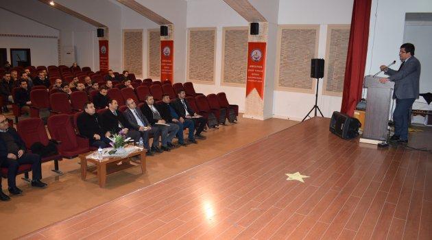 Arguvan'da değerlendirme toplantısı
