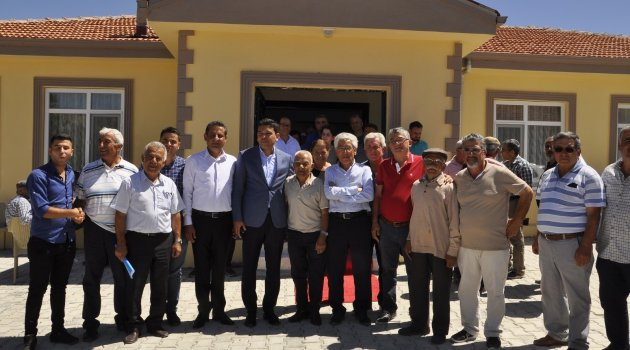 Arguvan'da kültür evi açıldı