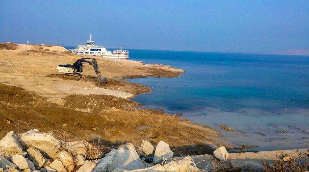 Atabey iskelesi yeniden düzenleniyor