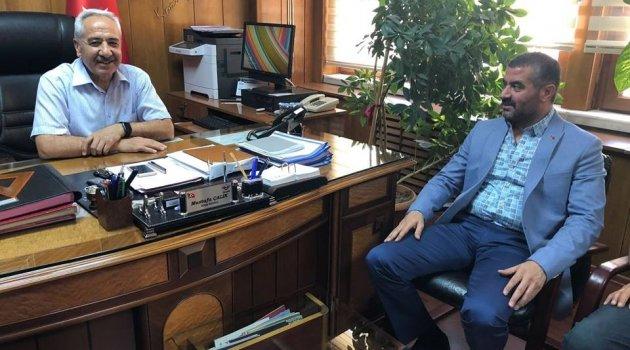 Avşar'dan TCDD.5.Bölge Müdürlüğüne ziyaret