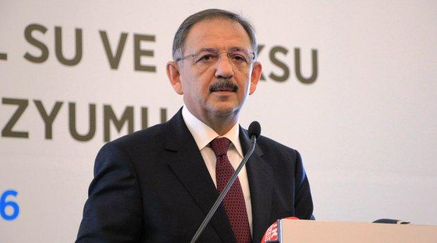 Bakan Özhaseki: Malatya'da Belediyelere yatırım uyarısın da bulundu