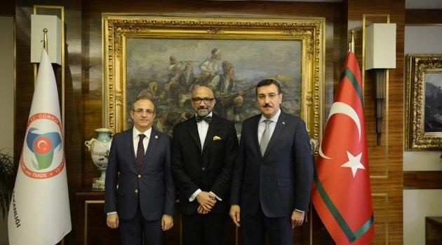 Bakan Tüfenkci, Büyükelçi Bracho Reyes'i ağırladı