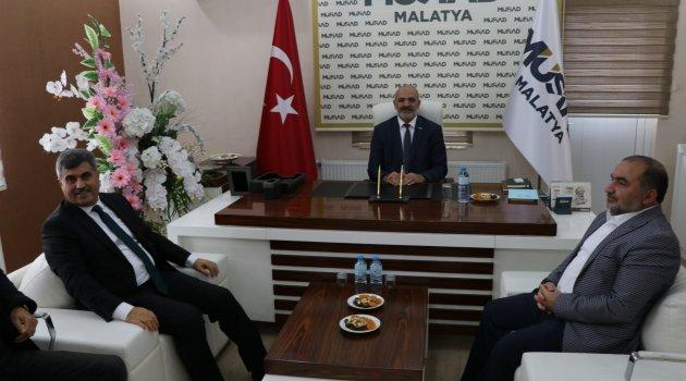 Başsavcı Savran'dan MÜSİAD'a ziyaret