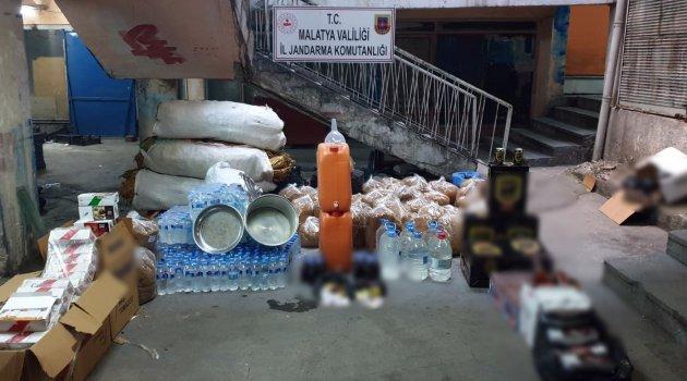 Bin 50 litre kaçak içki ele geçirildi