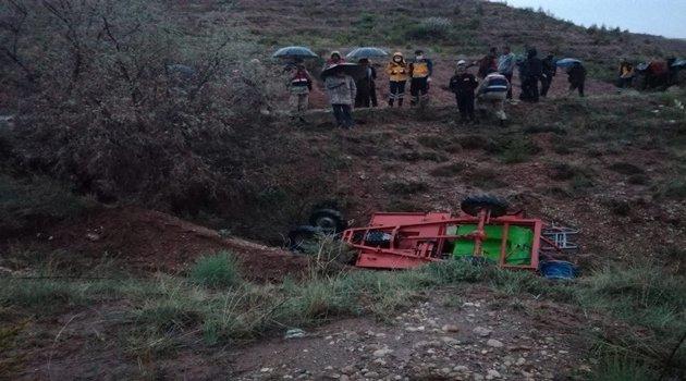 Çapa motoru devrildi: 1 ölü 1 yaralı