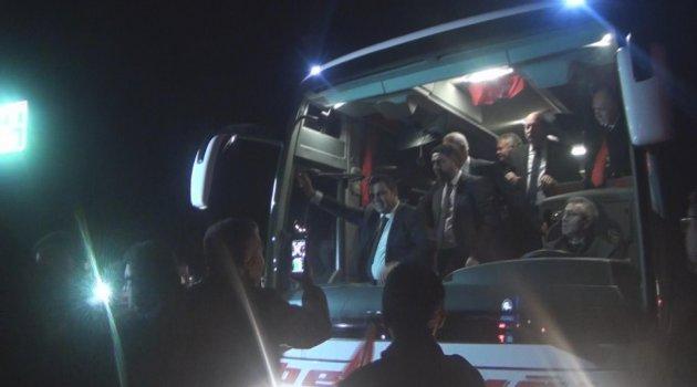 CHP'nin adaylarına coşkulu karşılama