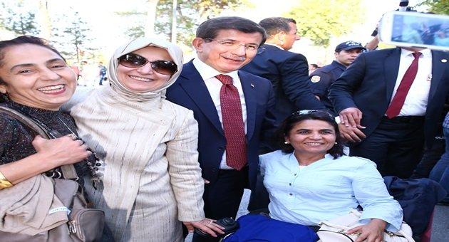 Çiftdemir,Başbakan Davutoğlu İle Görüştü