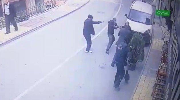 Pütürge'deki cinayet anı kamerada