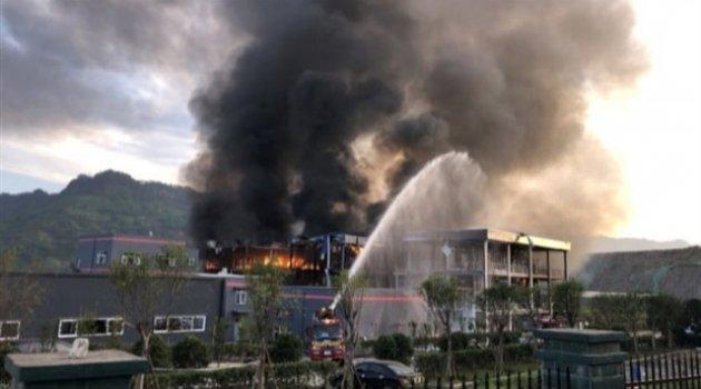 Çin'de kömür gazlaştırma tesisinde patlama