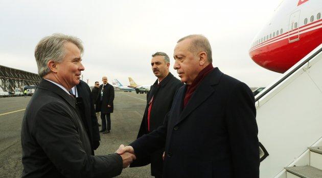Cumhurbaşkanı Erdoğan Berlin'de