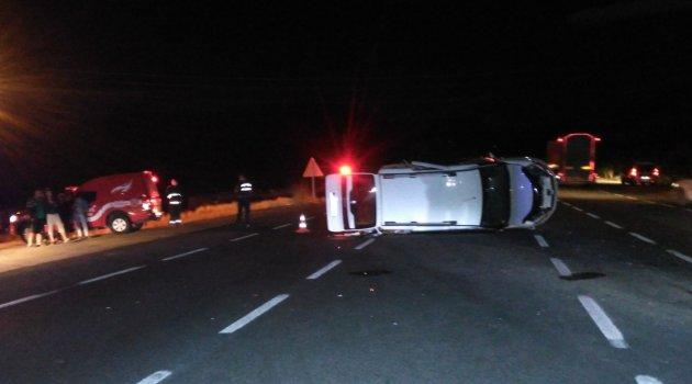 Darende'de trafik kazası: 8 yaralı