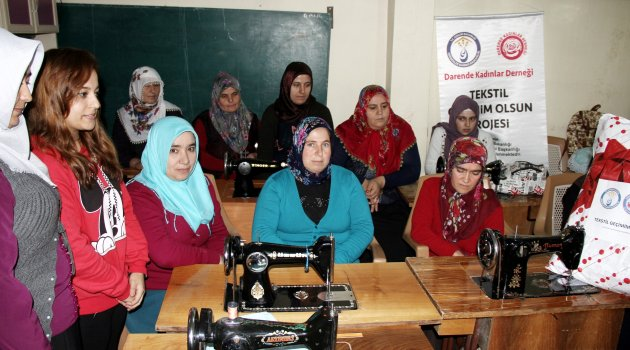 Darendeli kadınlara iş imkanı