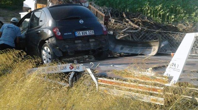 Datça'da kaza: 2 yaralı