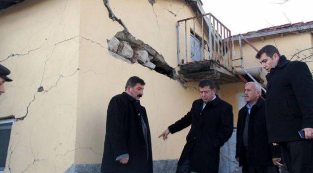 """""""Depremzedelere yardım yapılmadı """""""
