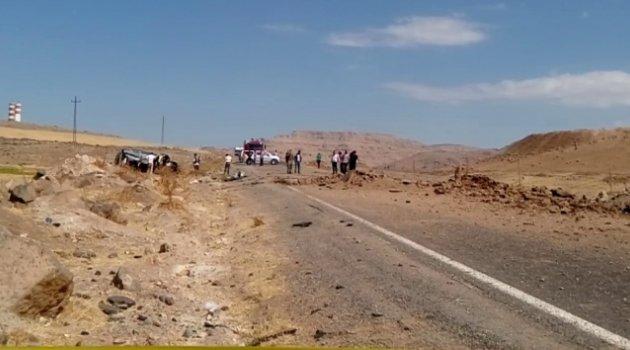 Derik'te patlama: 3 şehit, 7 yaralı