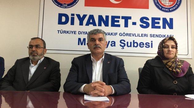 Diyanet-Sen'den Aksaray Müftüsüne destek açıklaması