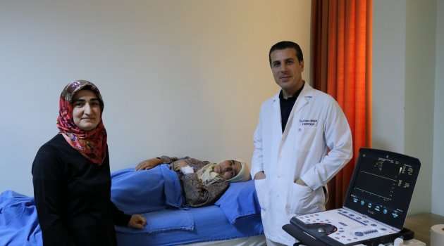 Diyarbakır'da sağlığına kavuştu