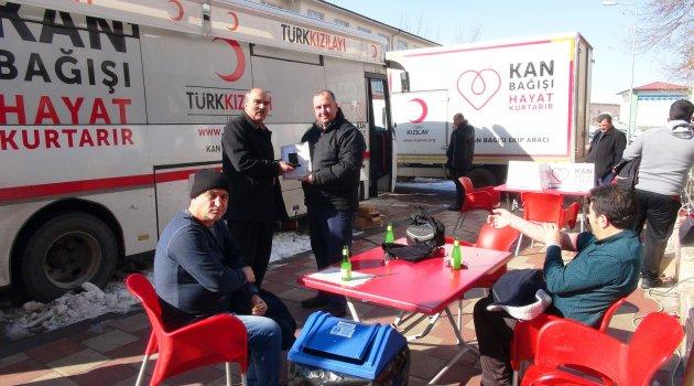 Doğanşehir'de kan bağışı