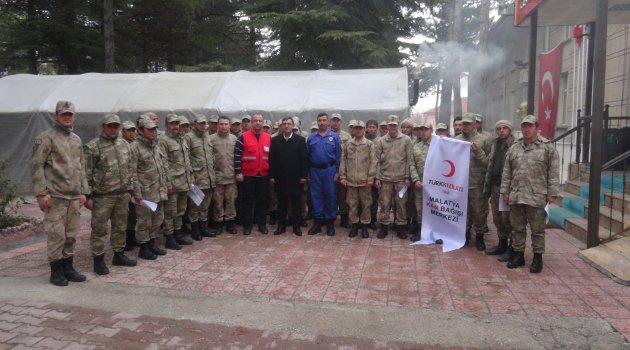 Doğanşehir'de rekor kan bağışı