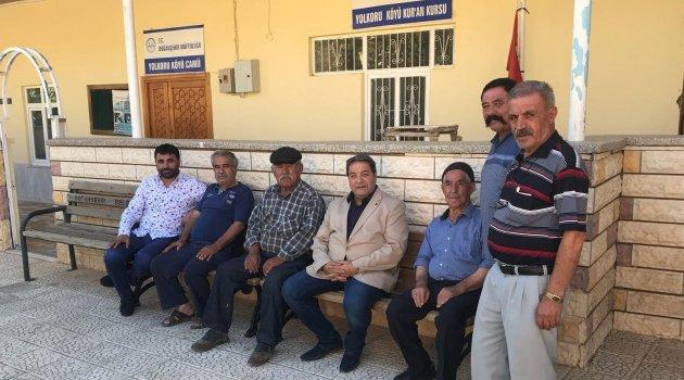 Doğanşehir'de sorunları dinledi