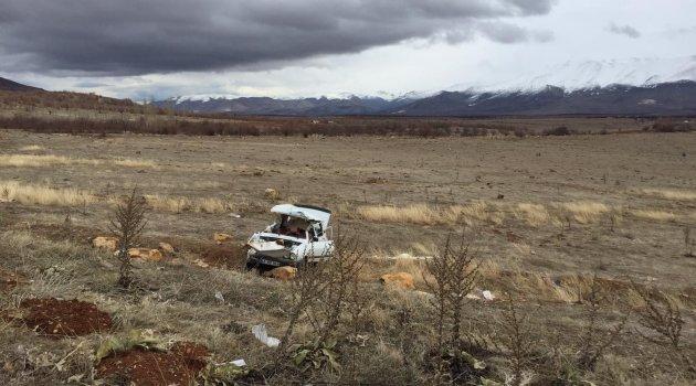 Doğanşehir'de trafik kazası 3 yaralı
