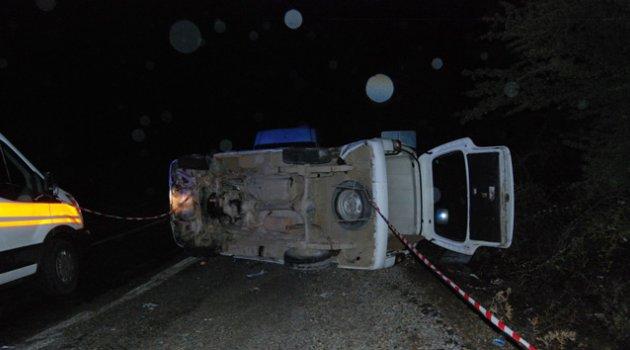 Düğün yolunda kaza: 9 yaralı