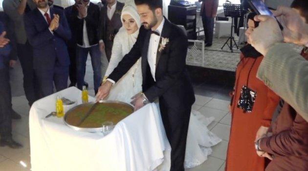 Düğünler tatlıya bağlandı
