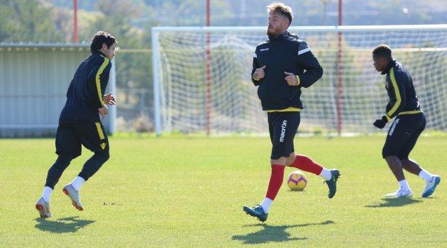 E.Y. Malatyaspor'da Kasımpaşa maçı hazırlıkları sürüyor