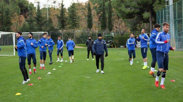 E.Yeni Malatyaspor ikinci yarı hazırlıklarını sürdürdü