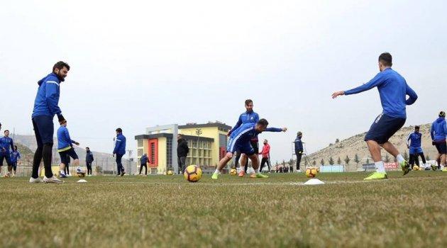 E. Yeni Malatyaspor, MKE Ankaragücü maçı hazırlıklarını sürdürüyor