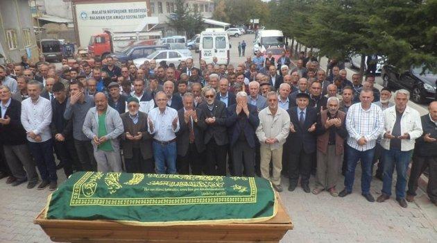 Eğitimci Mehmet Ali Cengiz toprağa verildi