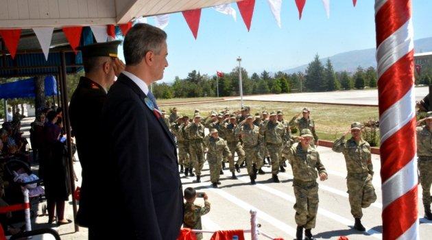 Engelli gençlerin askerlik heyecanı