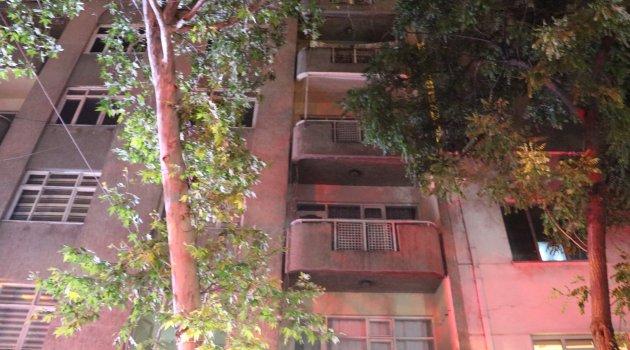 Evlerinin balkonunda oyun oynayan bebek, 4. kattan böyle düştü