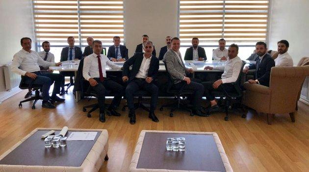 EYMS'de yönetim ilk toplantısını yaptı