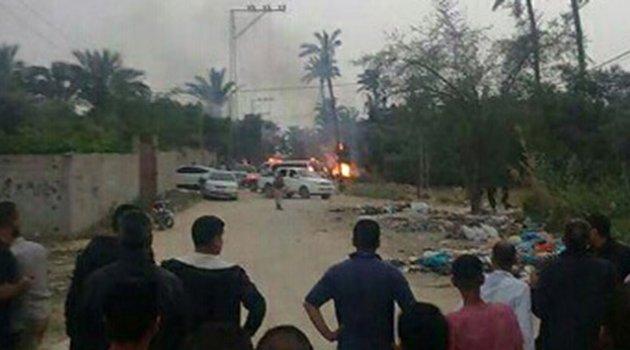 Gazze'de patlama: 5 ölü