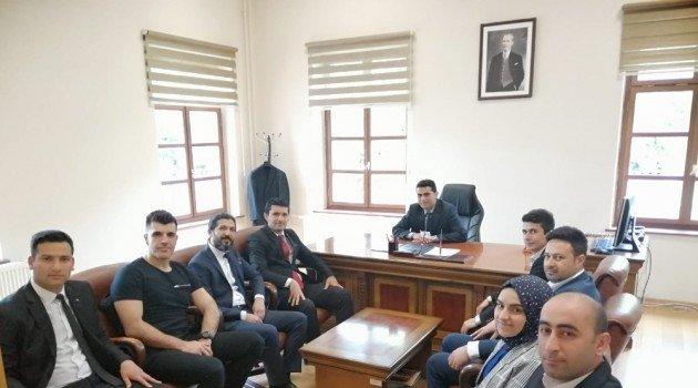 Gençlerden Malatya Sivil Toplumla İlişkiler Müdürlüğü'ne ziyaret